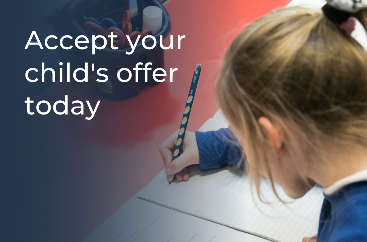 Accept Your Offer to Our Fantastic School