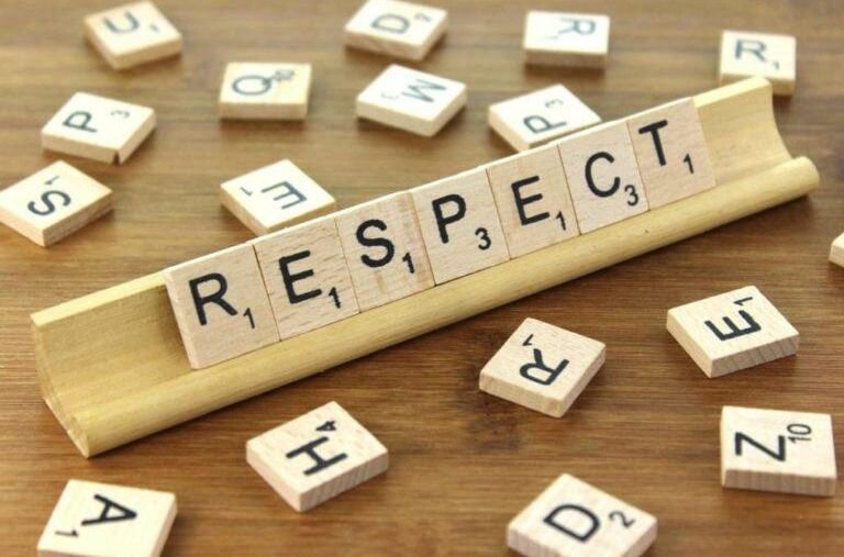 Our Value for September is Respect