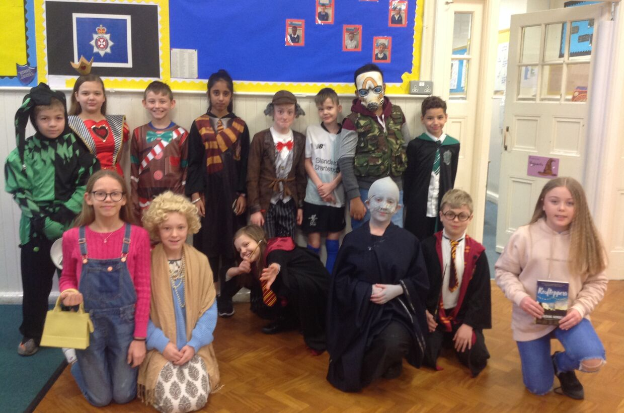 World Book Day 2020 at Gorse Hill